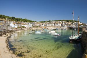 the pretty fishing village of mousehole near
